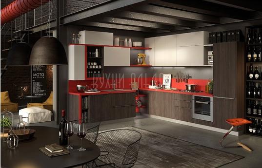 Угловая кухня Марио