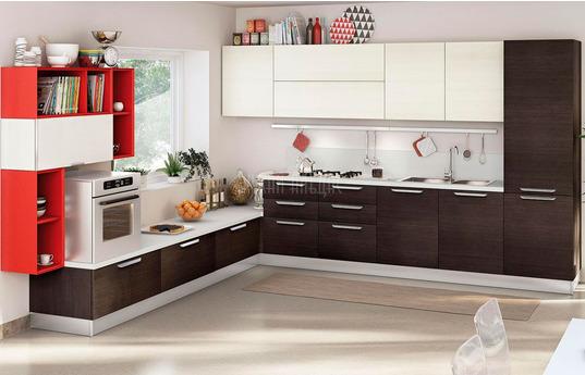 Угловая кухня Триада