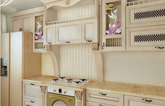 Угловая кухня Монтикора