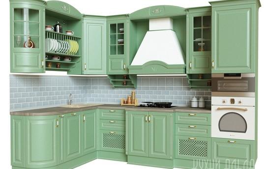 Угловая кухня Ферония