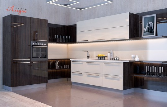 Угловая кухня Ниро