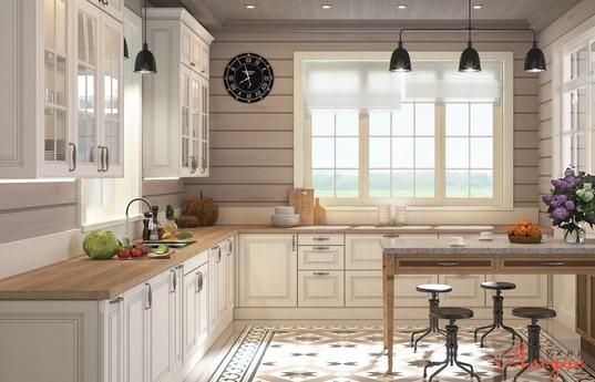 Угловая кухня Рошель