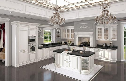 Угловая кухня Симона