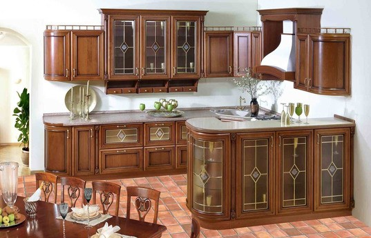 Угловая кухня Кадаиф