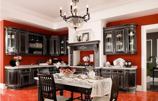 Угловая кухня Шервуд