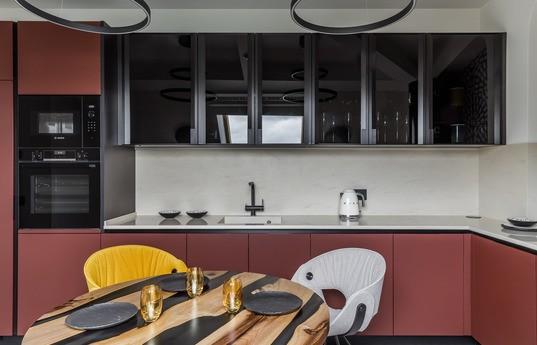 Угловая кухня Аметрин