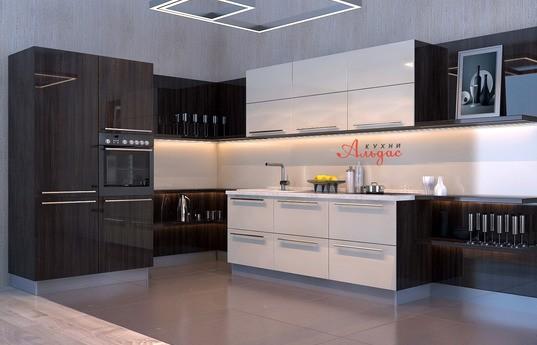 Угловая кухня Дионис