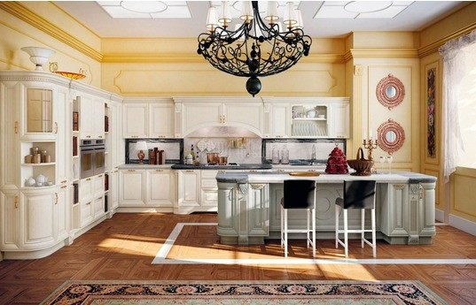 Угловая кухня Василиск