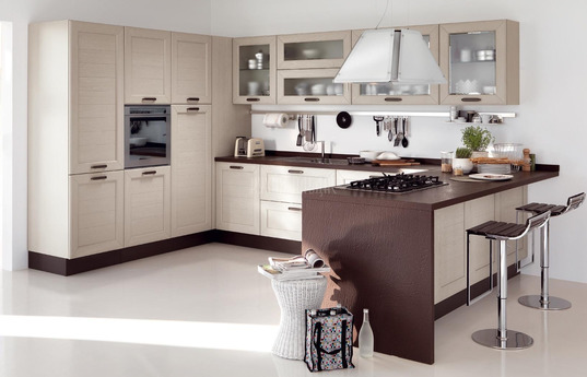 Угловая кухня Адажио