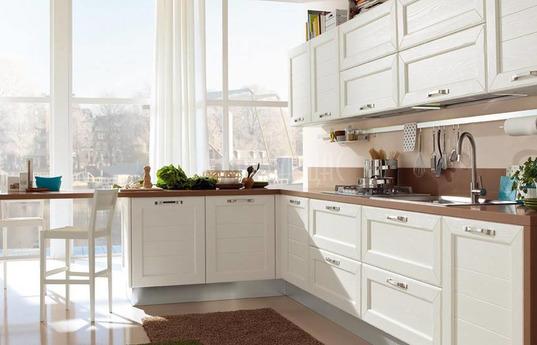Угловая кухня Лимантина