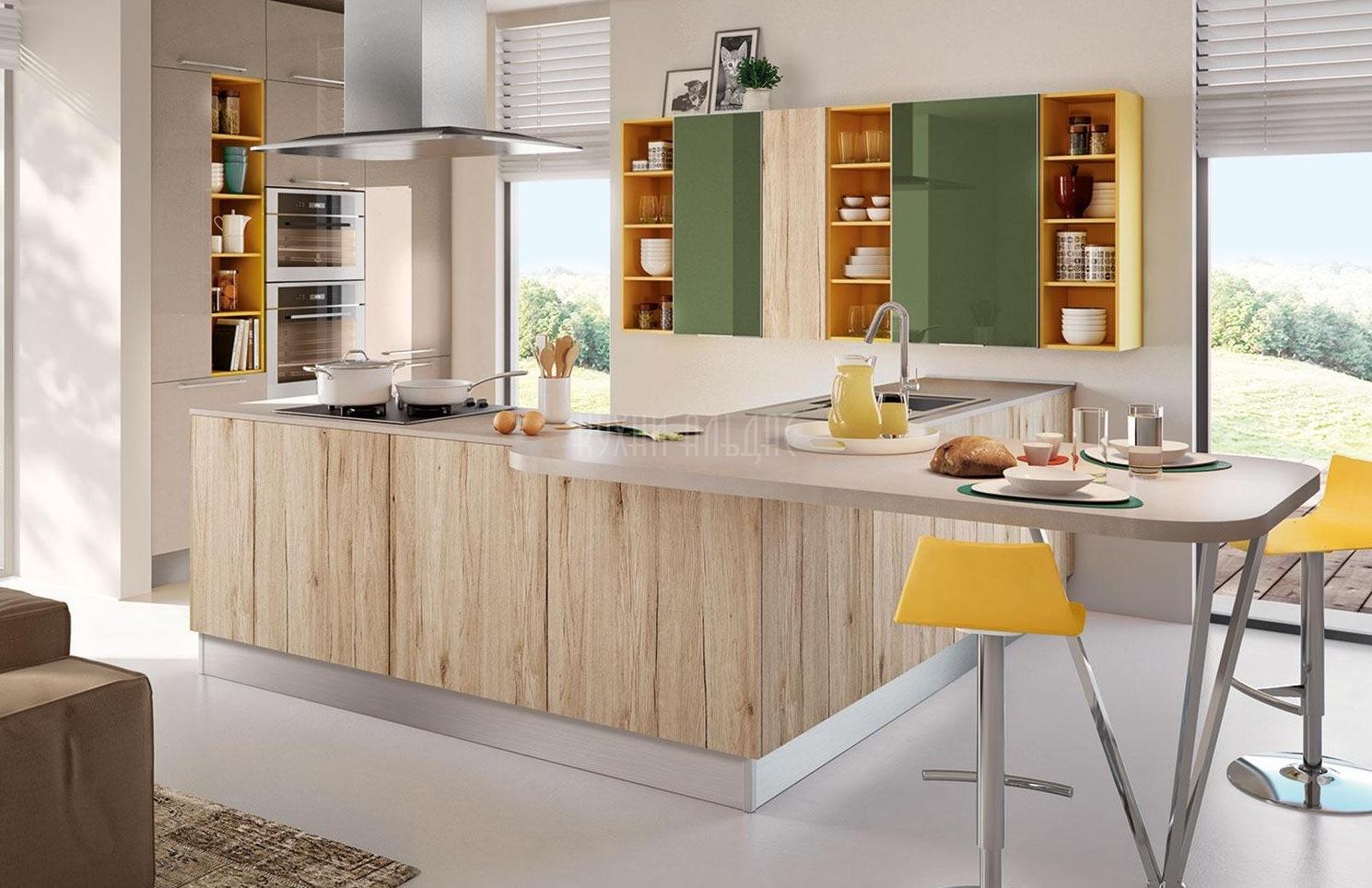 Угловая кухня Акцент