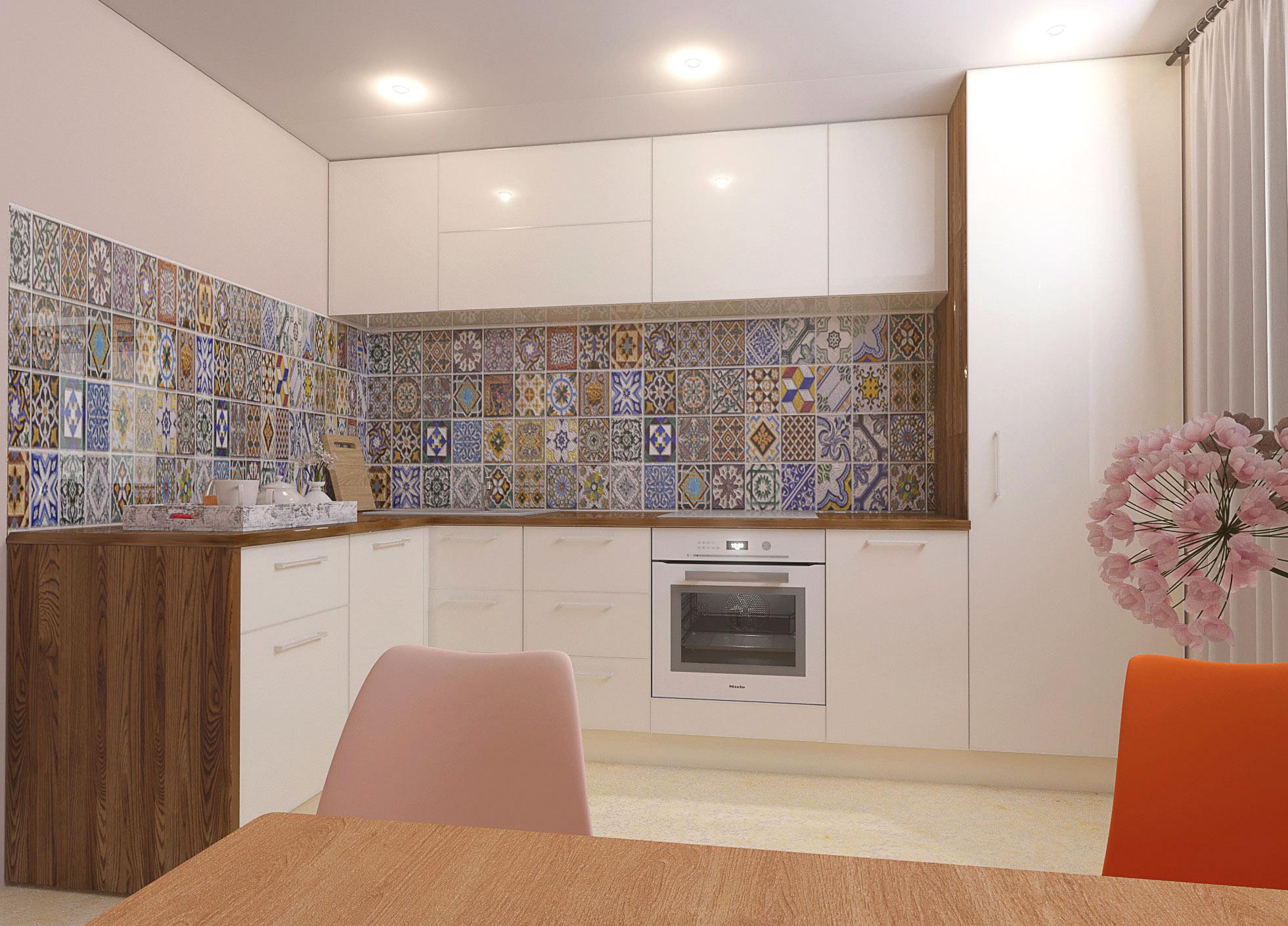 Угловая кухня Жемчужина