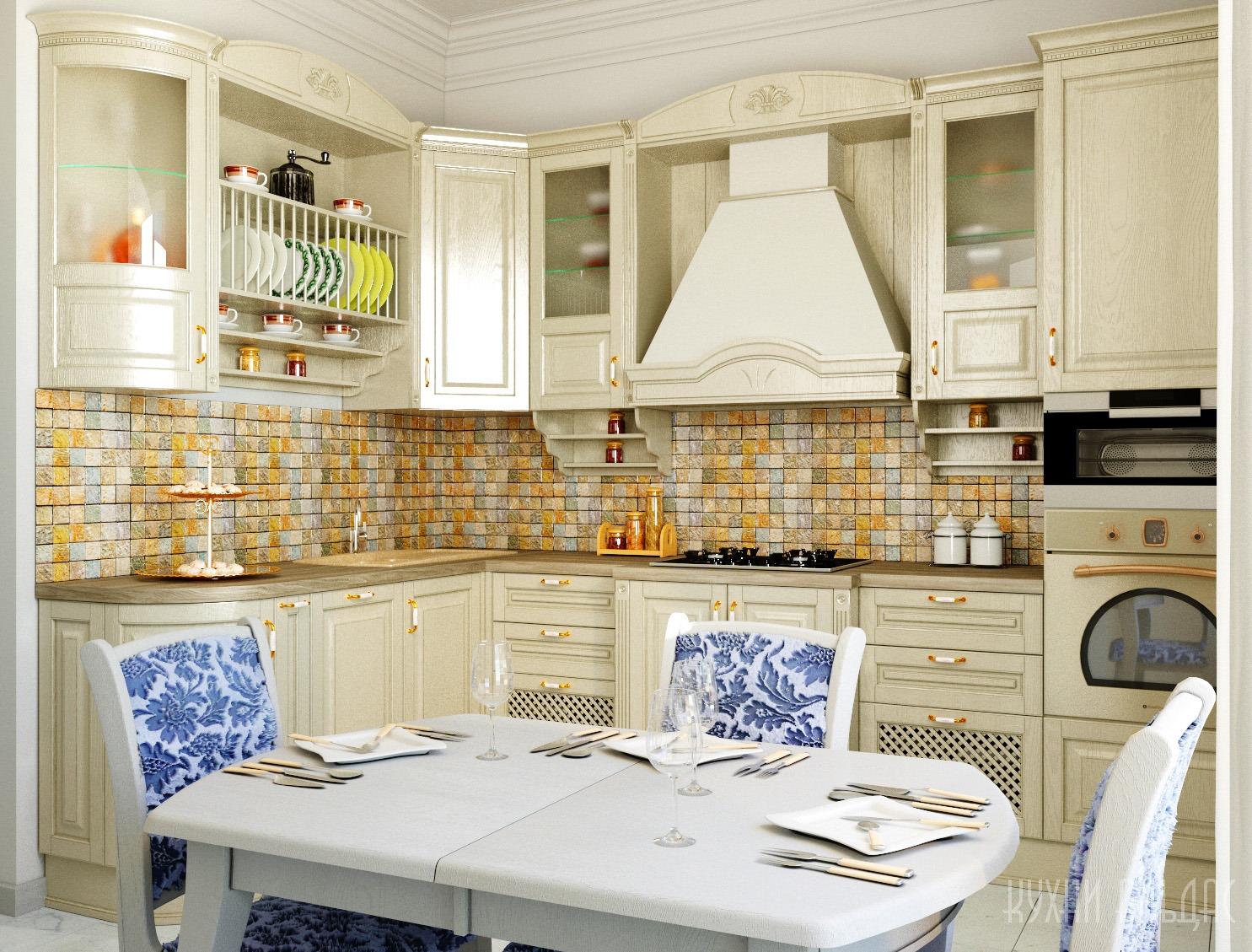 Угловая кухня Марика