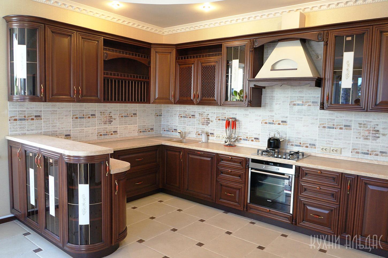Угловая кухня Илифия