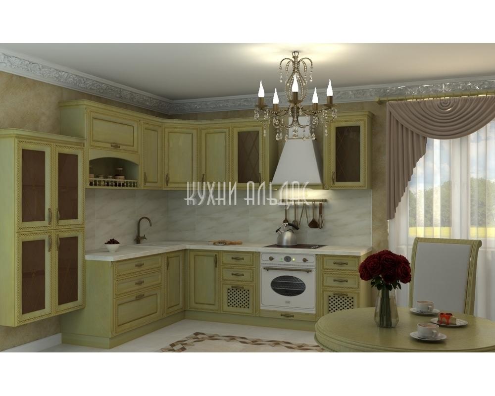 Угловая кухня Акбари