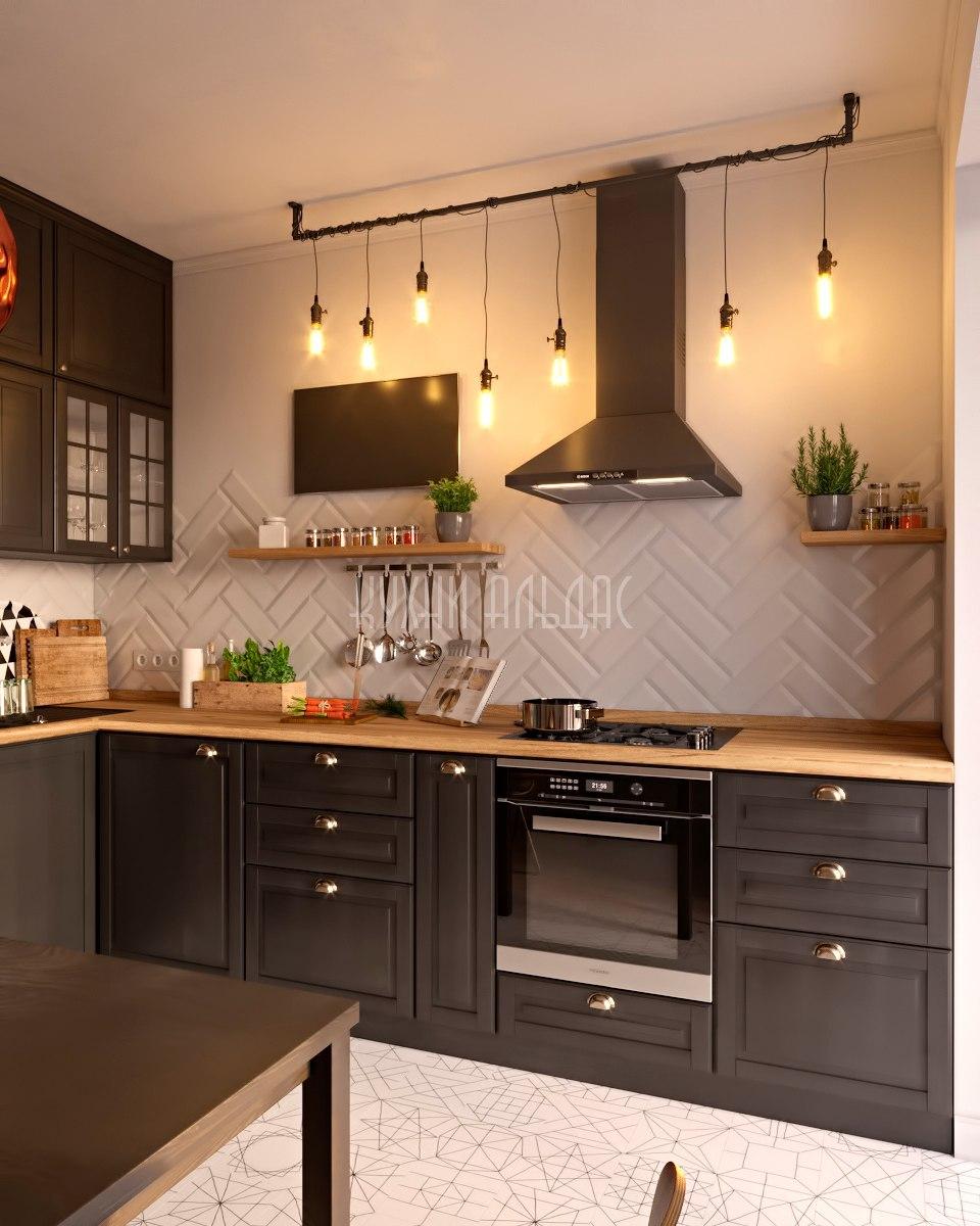 Угловая кухня Парфэ