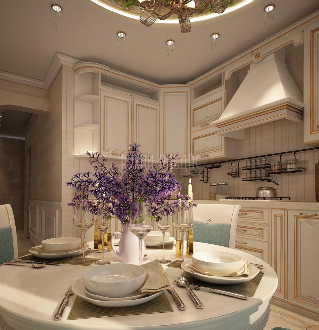 Угловая кухня Делис