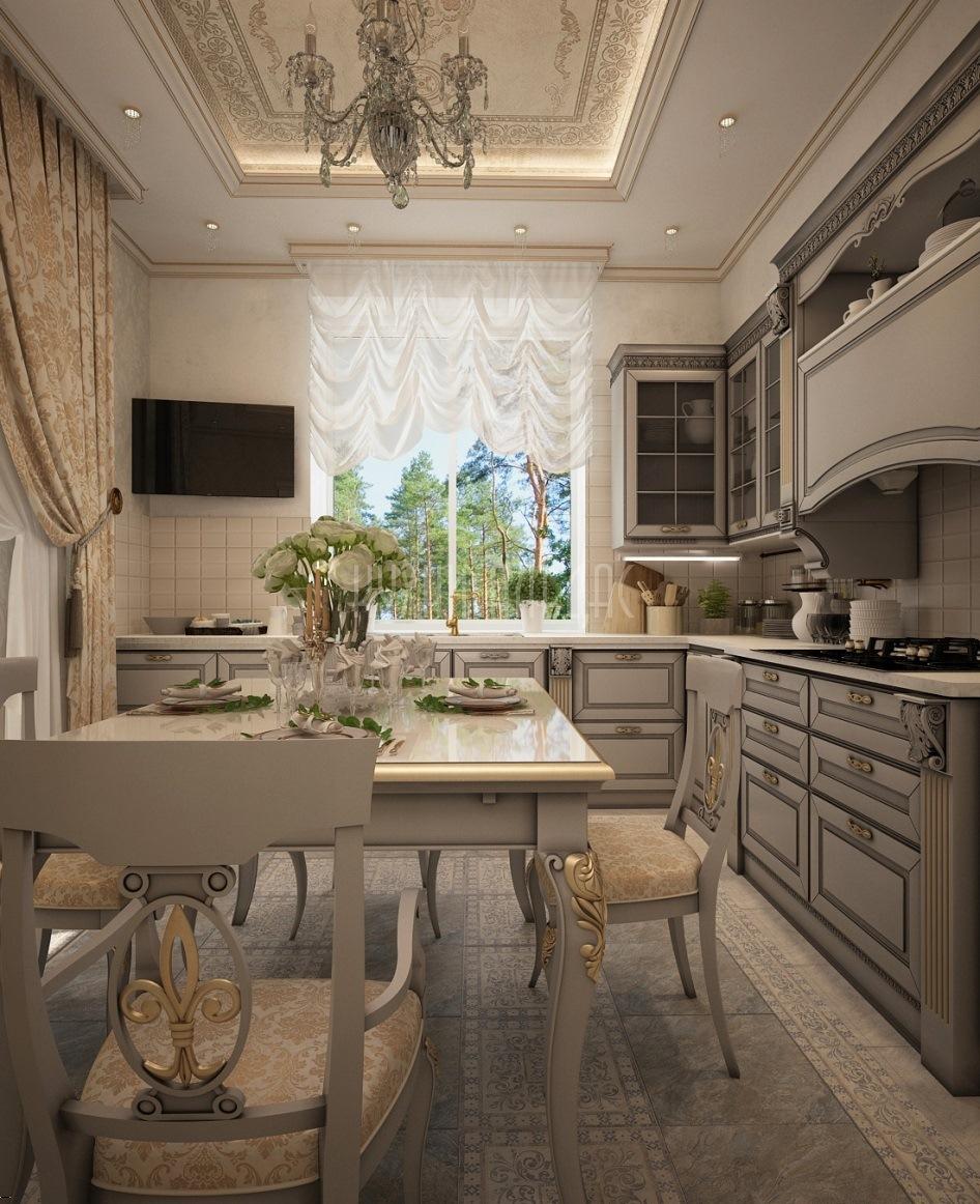 Угловая кухня Мазарини