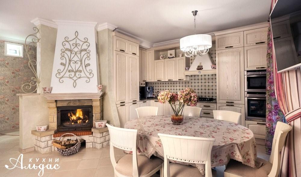 Угловая кухня Лесли