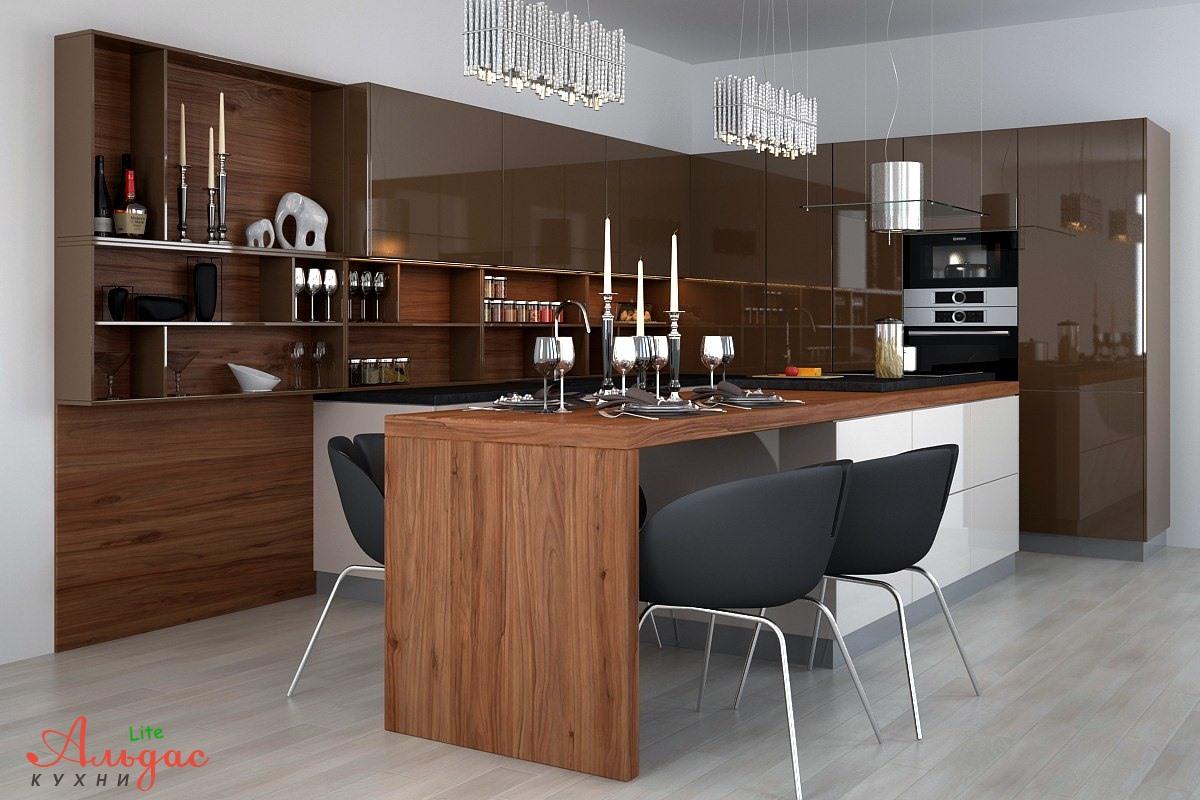 Угловая кухня Лорен