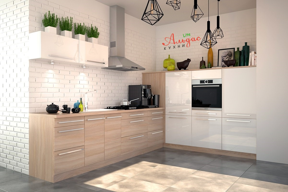 Угловая кухня Норин
