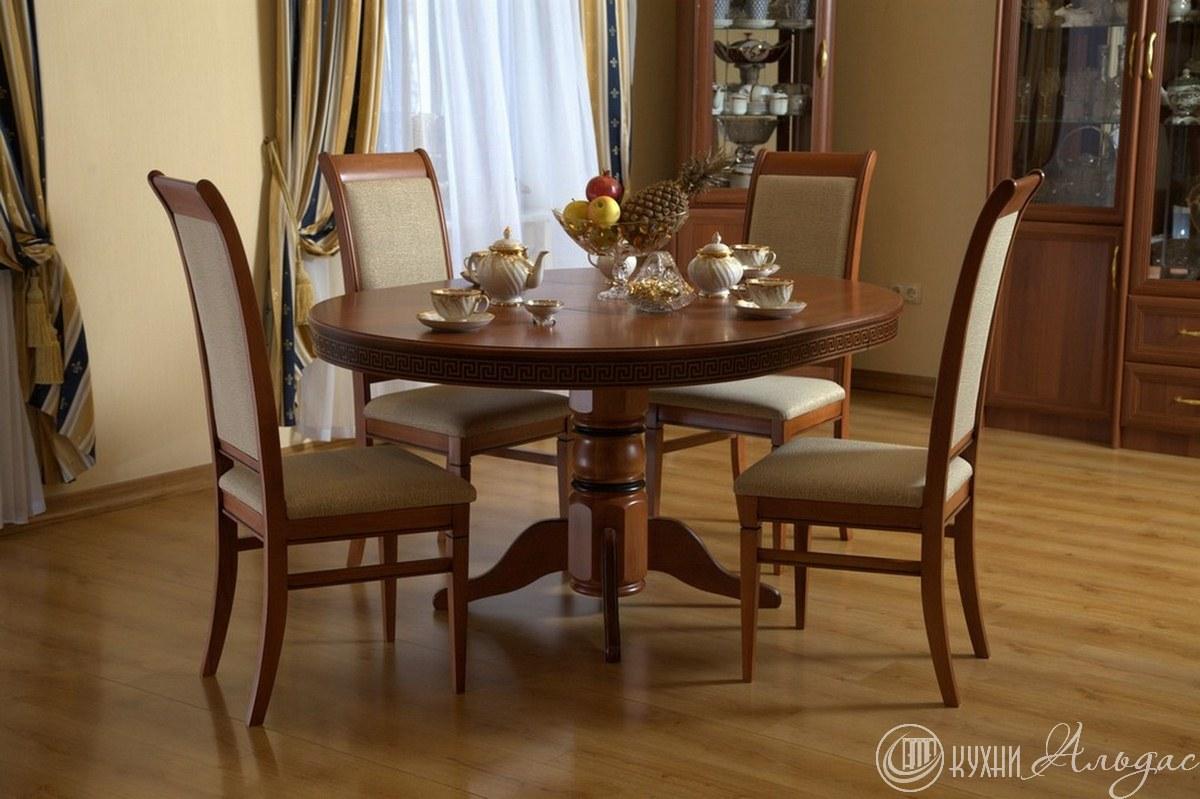 Стол круглый Регано 5 со стойкой