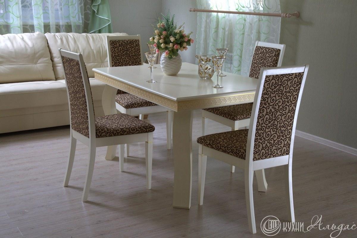 Стол обеденный прямоугольный Регано 7  квадро