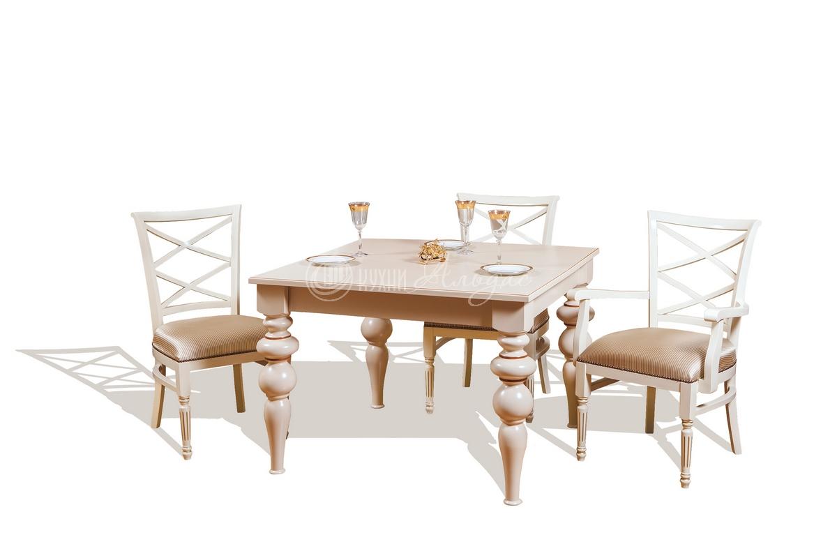 Стол обеденный квадратный Тобиано 2