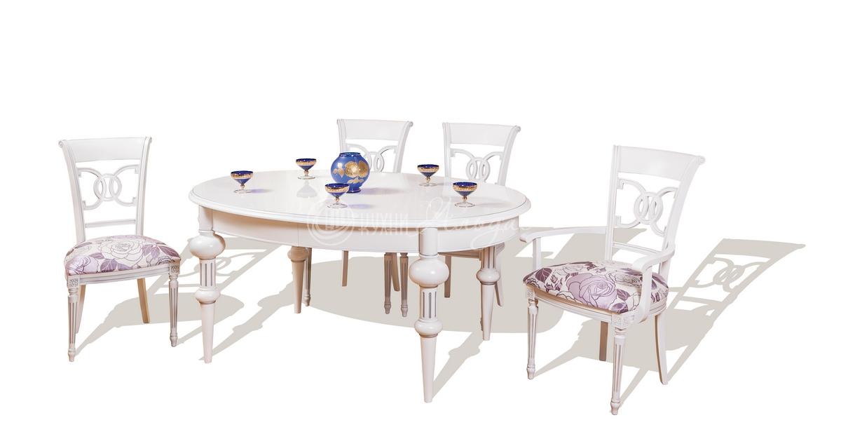 Стол обеденный овальный Тобиано 5