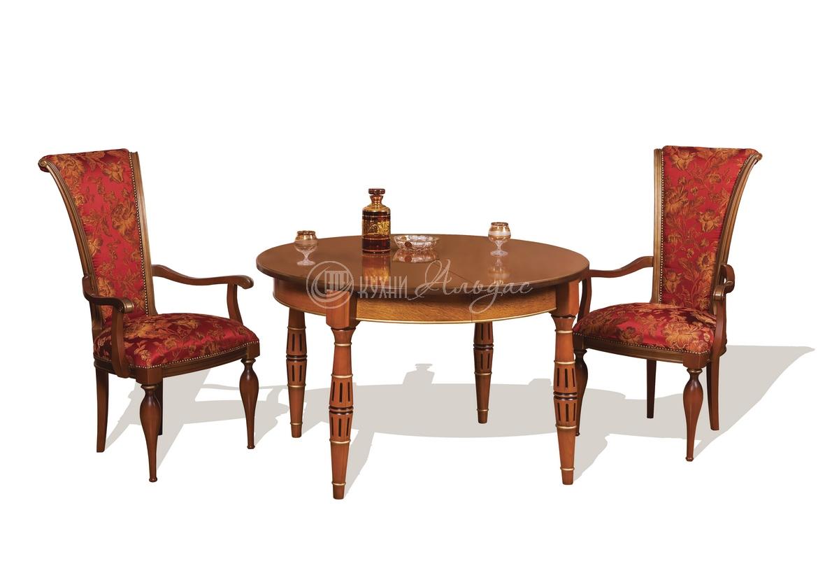 Стол обеденный круглый Тобиано 6