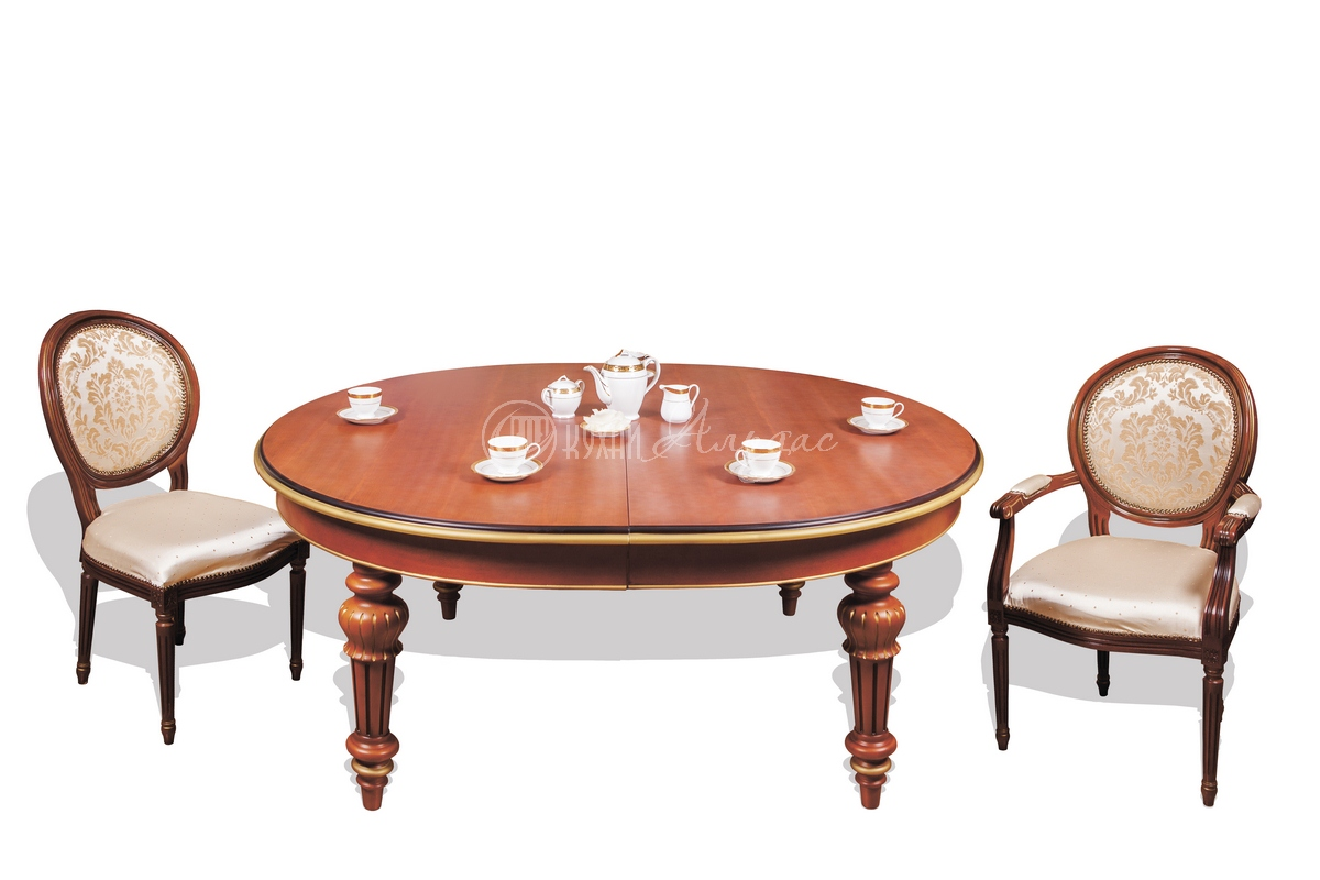Стол обеденный овальный Тобиано 7