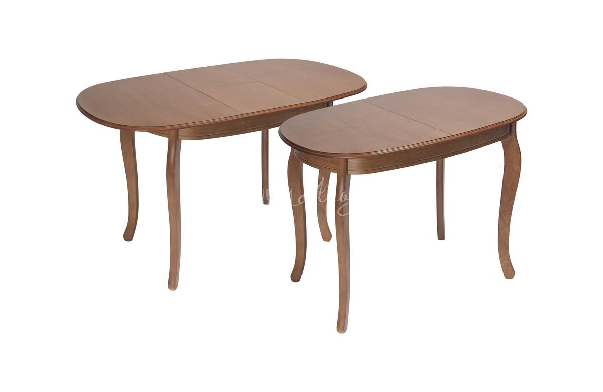 Стол обеденный прямоугольный Азулен 1000х700 с закругленными углами