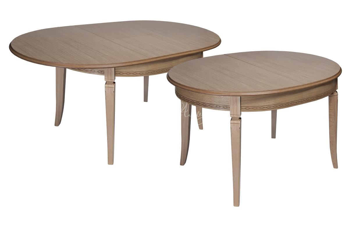 Стол обеденный овальный Азулен 3