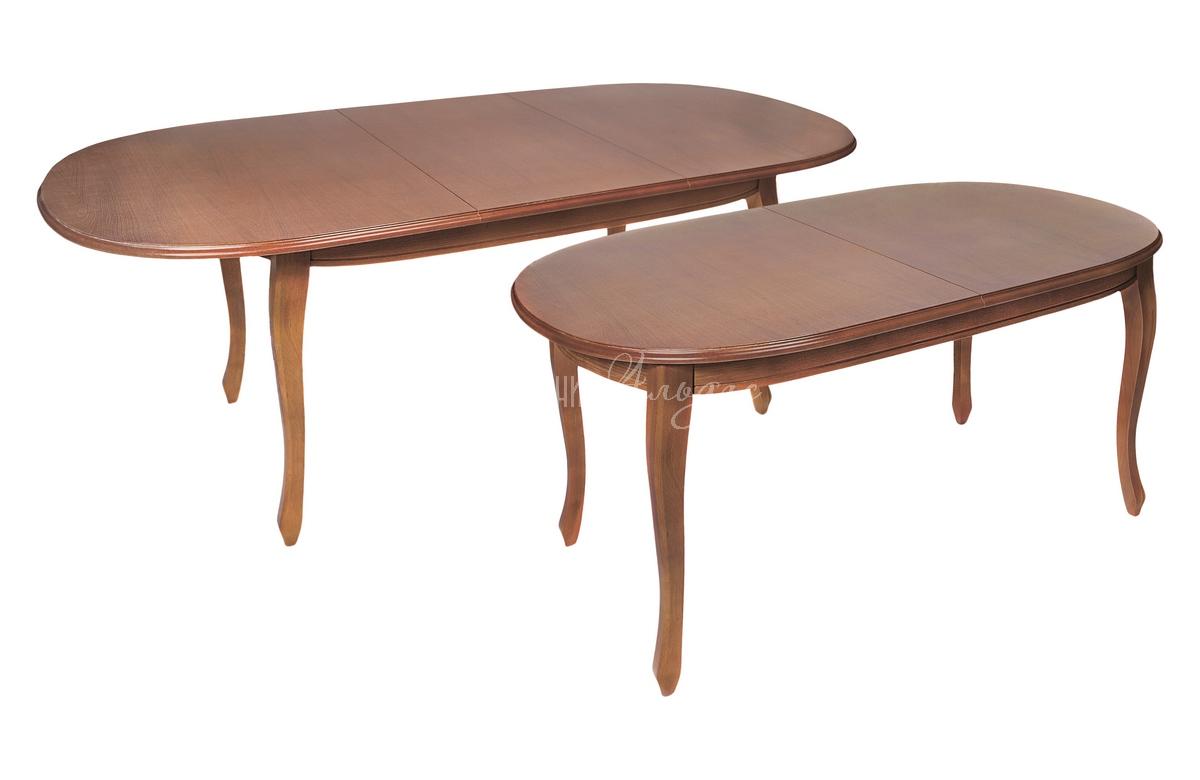 Стол обеденный овальный Азулен Б1600