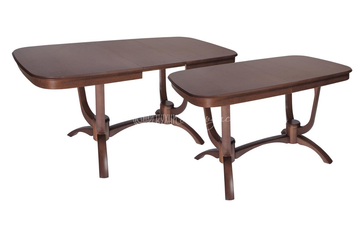 Стол обеденный прямоугольный Крокус 1300 с закругленными углами