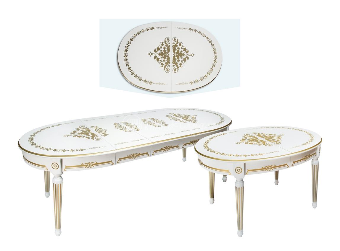Стол обеденный овальный Лоренцо 1