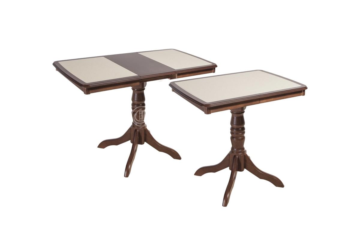 Стол обеденный прямоугольный Палермо МП скамнем